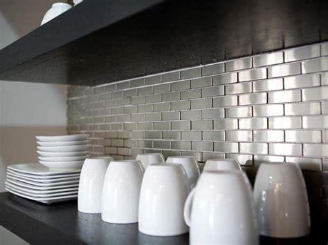 Metal Kitchen Backsplash : Inspiration From Kitchens With Stainless Steel Backsplashes