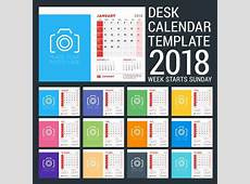 10 calendarios 2018 listos para imprimir Recursos Gratis