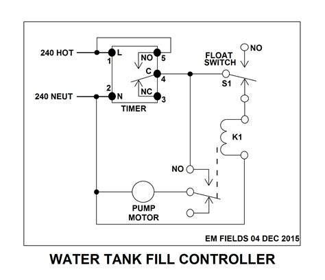 Hardy Stove Relay Wiring Schematic by Hacking Auto Start And Stop Water Ac Motor Using These