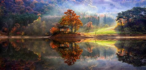 Perfect Reflected Landscapes Jaewoon