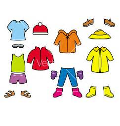 Cartoon Kids Clothes Clip Art