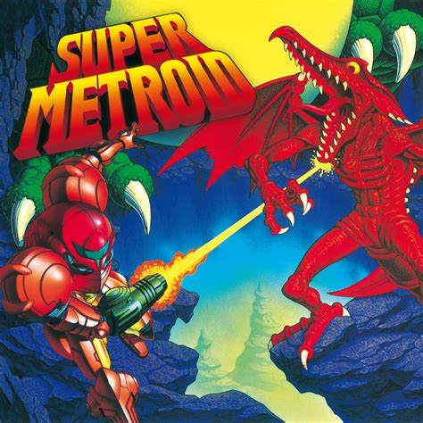 Official Super Metroid Cover Artwork From Nintendo Of Uk