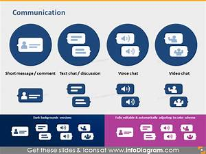 It Icons Document Type Report Media Chat Hyperlink Share