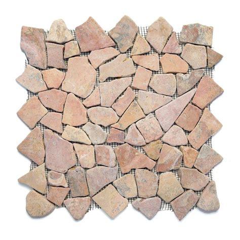 pebble tile mosaics solistone sumatra 12 in x 12 in x 6 35 mm