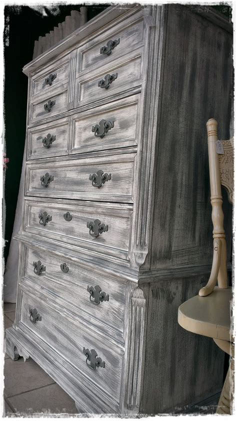 gray shabby chic furniture grey and white dry brushed shabby chic farm style chest of drawers dresser shabby chic