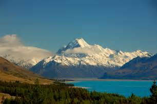 Mount Cook New Zealand Mountain