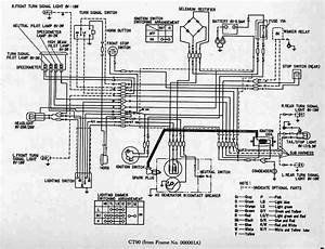 Complete Wiring Diagram Of Honda Ct90 Trail  U2013 Circuit