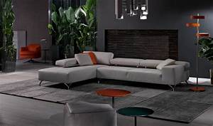miami modern sectional sofa cierre imbottiti With miami contemporary leather sectional sofa set