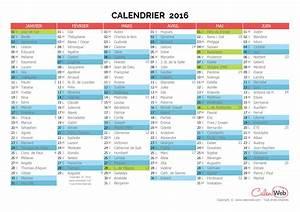 Calendrier Des événements 2016 : calendrier semestriel ann e 2016 avec affichage des jours f ri s et f tes du jour ~ Medecine-chirurgie-esthetiques.com Avis de Voitures