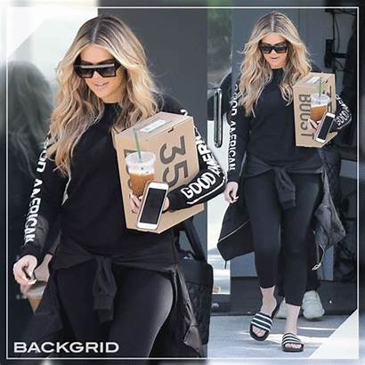 Kardashian Khloe Backgrid Picks Exclusive Some Yeezys
