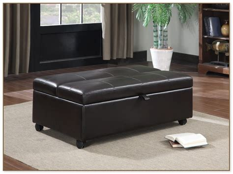hide a bed ottoman upholstered glider and ottoman