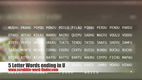 7 letter words ending in r 5 letter words ending in u 93282
