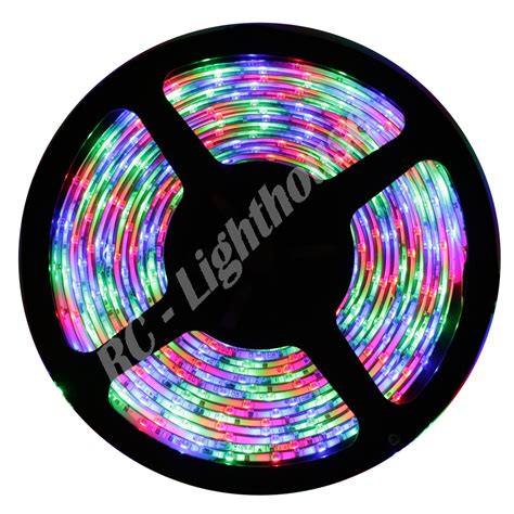3528 led light strips rgb multi colored rc lighthouse