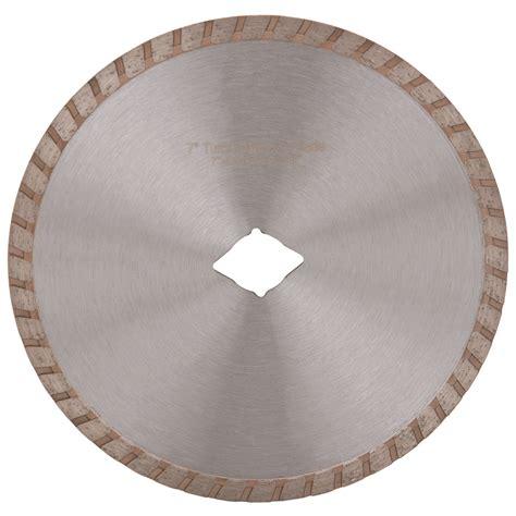 7 in turbo wet dry masonry diamond blade