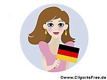 tag der deutschen einheit cliparts bilder grafiken