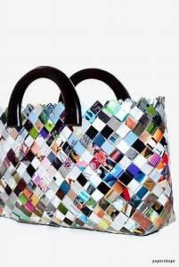 Taschen Selber Machen : taschen selber machen aus zeitschriften candy wrapper bag basteln pinterest taschen ~ Orissabook.com Haus und Dekorationen