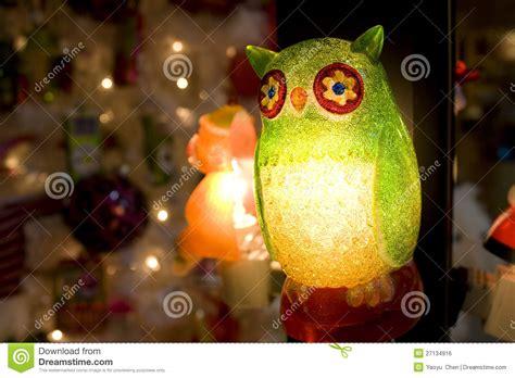 owl christmas lights owl light stock photo image of postcard home 27134916
