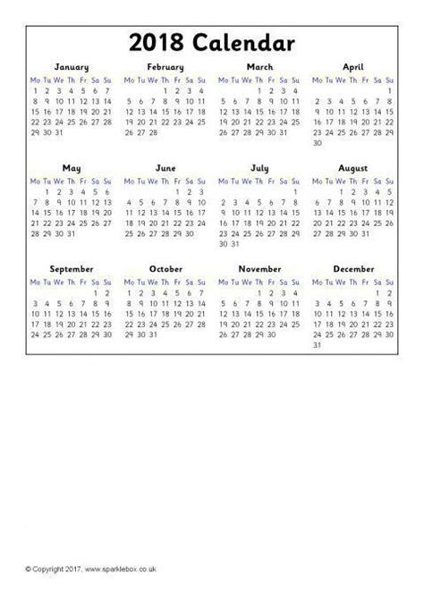 calendars year  view sb sparklebox