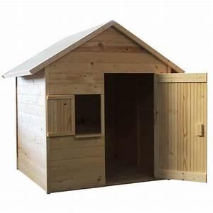 Cabane Exterieur Enfant : soulet maison enfant cabane en bois igor achat vente ~ Melissatoandfro.com Idées de Décoration