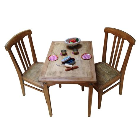 table et chaise cuisine ensemble table et chaises enfant rétro boutique