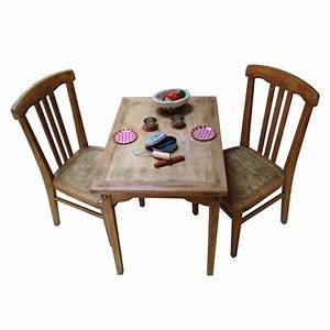 Table De Cuisine Et Chaises : ensemble table et chaises enfant r tro boutique ~ Teatrodelosmanantiales.com Idées de Décoration