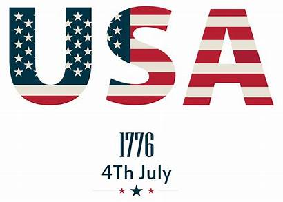 Usa Clip July Clipart 4th Happy Transparent