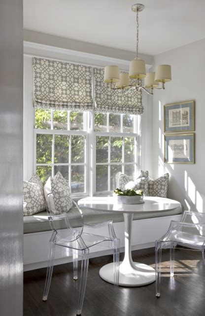 built  banquette contemporary kitchen sally