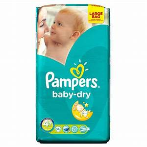 Pampers Baby Dry Size 4+ Maxi Plus 9-20kg (56) | eBay