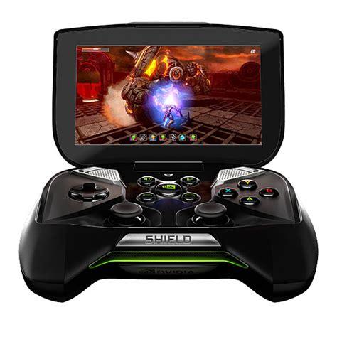 nvidia portable console nvidia shield gaming portable thinkgeek