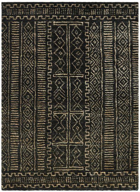 and black area rugs ralph ralph kenya rlr5112a black area rug 7659