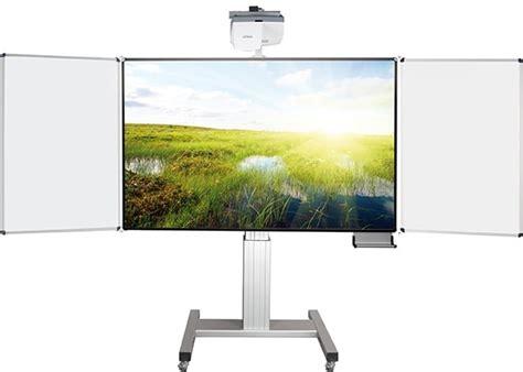 beamer tafel whiteboard fahrbares whiteboard f 252 r stiftbedienbare projektoren elektr