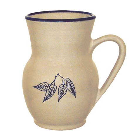 bokaly vase red wing stoneware pottery