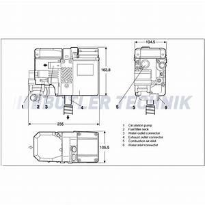 Webasto Thermo Top C 300 Rv Camper Heating