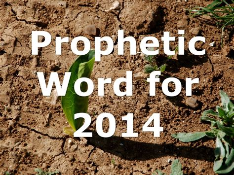Prophetic Word For The Year 2014 (video)  Fathers Heart Ministry