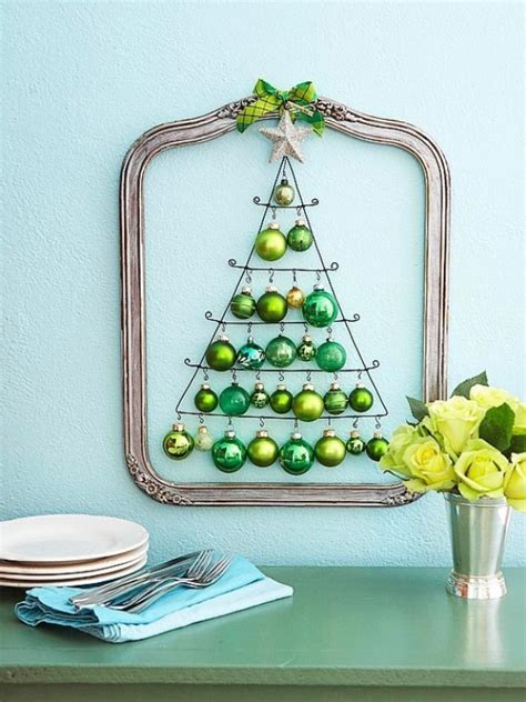 diy wire frame christmas decorations 35 awesome traditional tree alternatives digsdigs