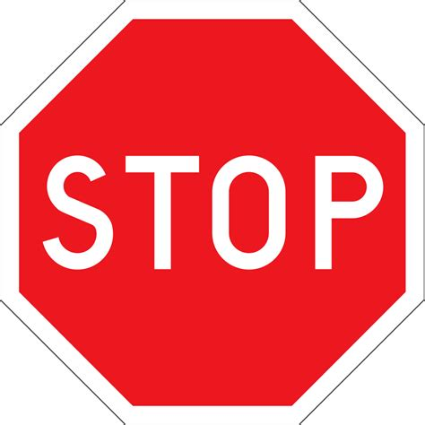 stop sign stop saying things like i don t the organizer universe