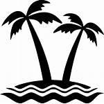 Island Icon Svg Clipart Onlinewebfonts Transparent
