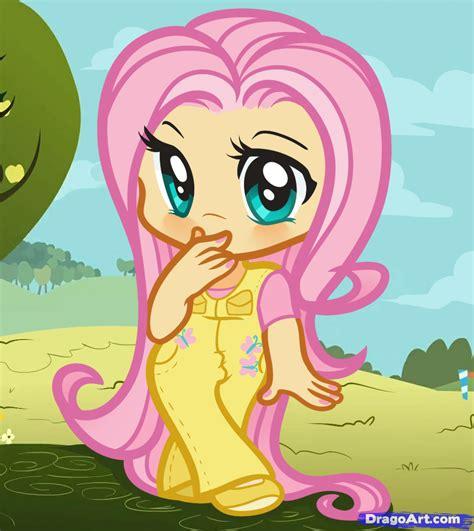 draw human fluttershy fluttershy   pony
