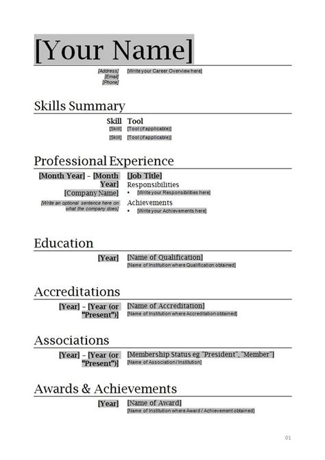 microsoft office resume builder  letters