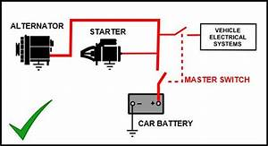 Car Battery Isolator Wiring Diagram 12v Battery Isolator