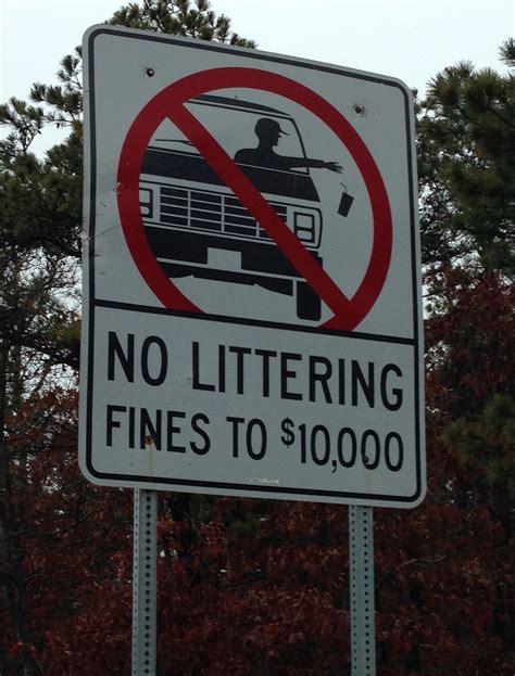Fileno Littering Sign In Cape Codjpg  Wikimedia Commons