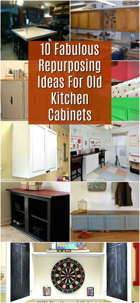 repurposed kitchen cabinets for sale 10 fabulous repurposing ideas for kitchen cabinets