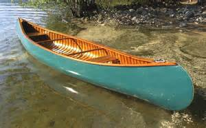 Wood Canvas Canoe