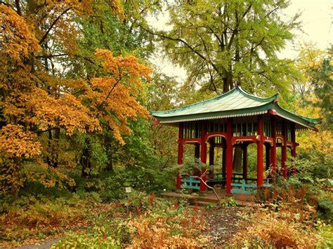 Garten Tätigkeiten Im Herbst by Herbst Im Botanischen Garten In Berlin Foto Bild