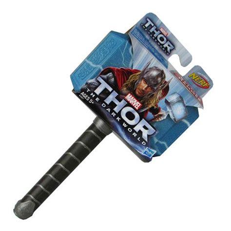 thor the dark world soft foam nerf hammer toy hasbro