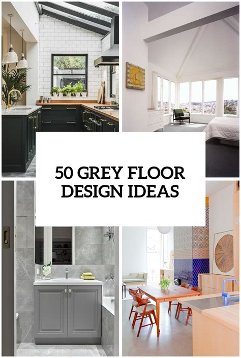 Ideas In Grey by 32 Grey Floor Design Ideas That Fit Any Room Digsdigs
