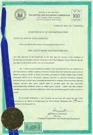 Certificate Of Excellent Bcidp Law General Consultancy Services Manila Philippines