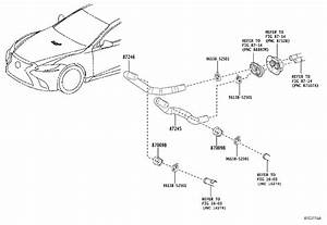 Lexus Ls 500 Clip Or Clamp  For Heater Water Hose