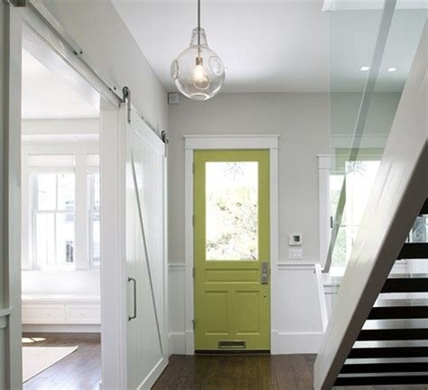 painting inside of front door pops of color for interior front doors avenue of