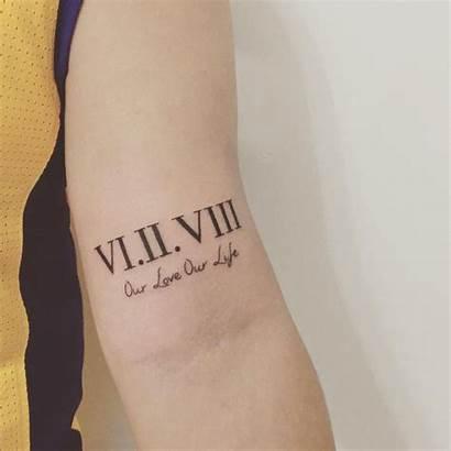 Roman Numeral Tattoo Tattoos Forearm Inner Tatuaje